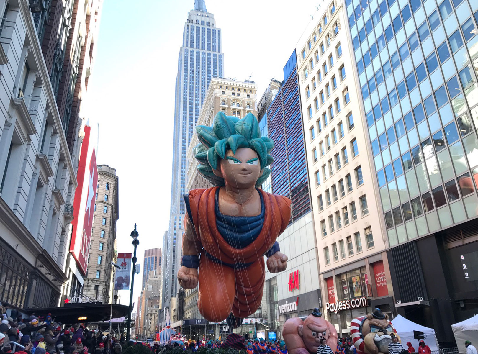 GOKU'S BACK TO SOAR IN THE 2019 MACY'S THANKSGIVING DAY PARADE!