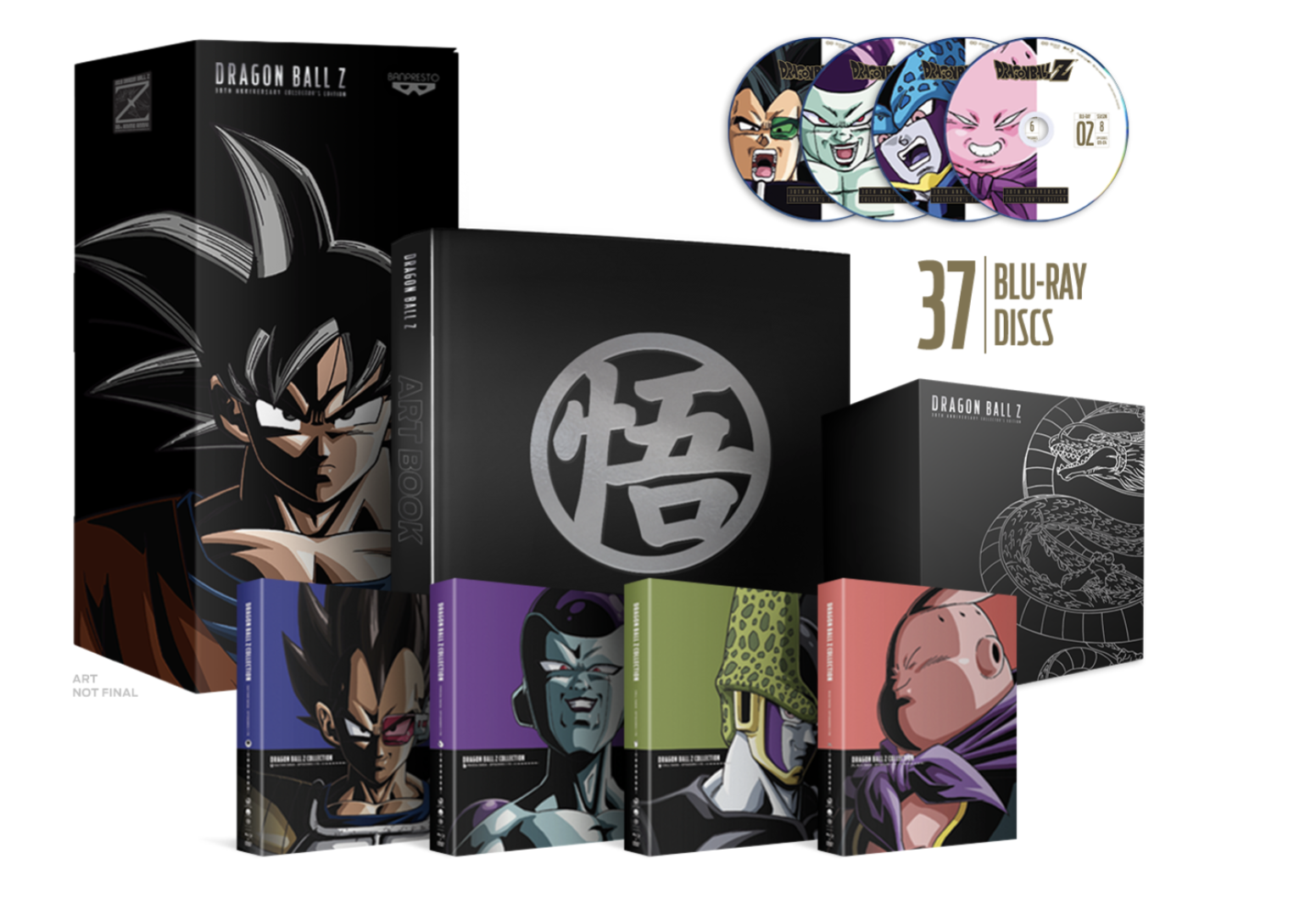 30TH ANNIVERSARY COLLECTOR'S EDITION OF DRAGON BALL Z NOW AVAILABLE TO PRE-ORDER!