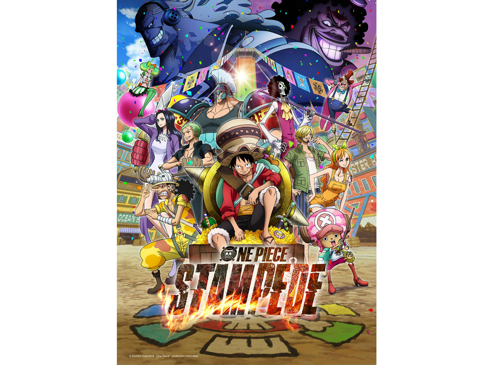 ONE PIECE: STAMPEDE WILL CHARGE INTO THEATERS THROUGHOUT THE U.S. & CANADA IN OCTOBER